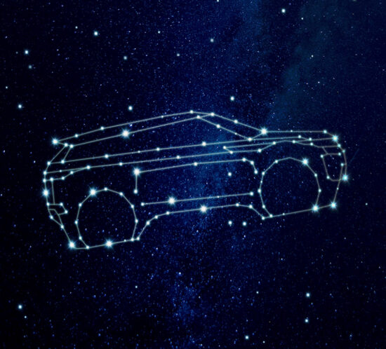 Facebook post per Nuova Range Rover Evoque Night