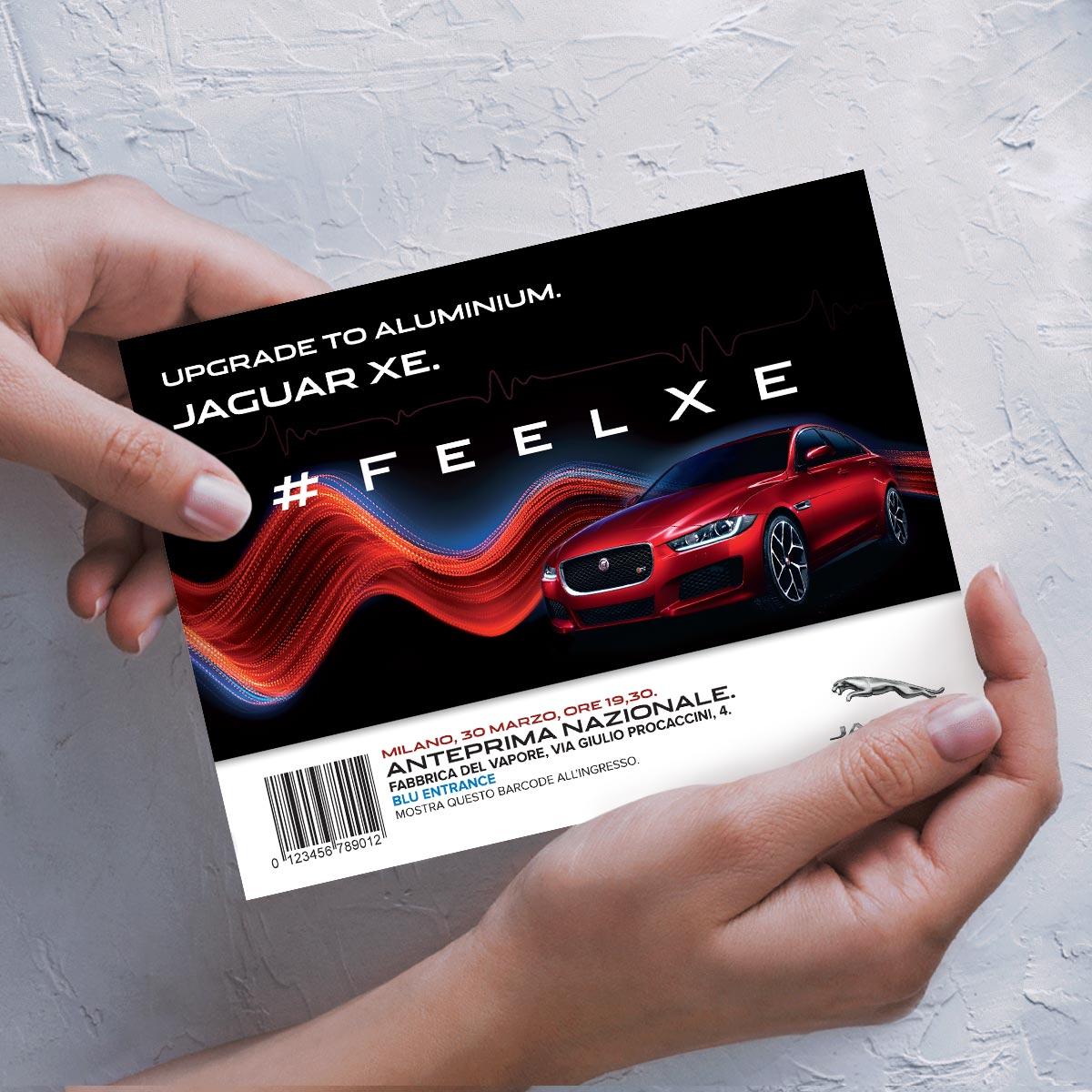 Invito all'anteprima nazionale della Jaguar XE
