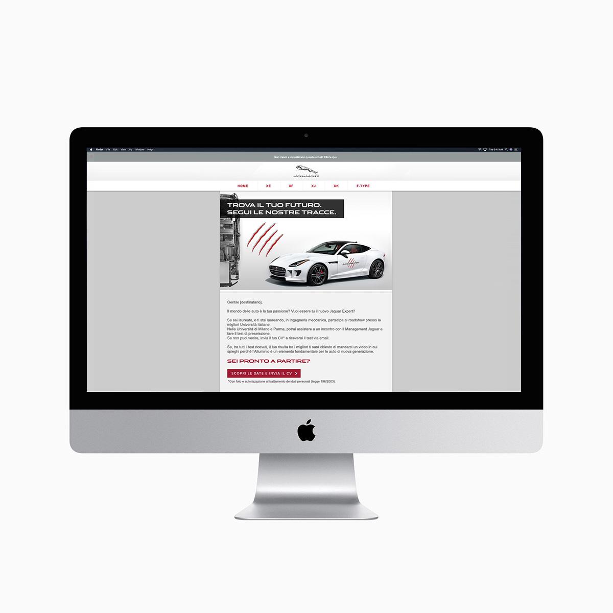 Monitor iMac con DeM Jaguar Expert Recruiting